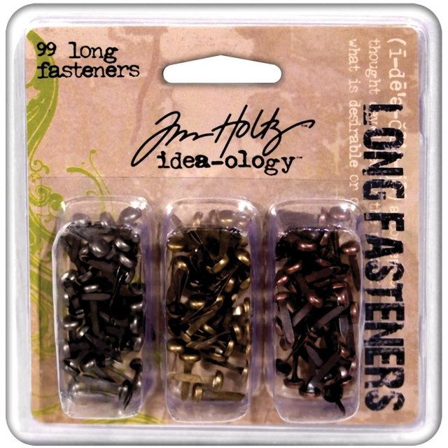 Tim Holtz Idea-Ology Metal Long Paper Fasteners