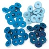 We R Memory keepers Eyelets Eyelets Wide 40/Pkg Aluminium Blue