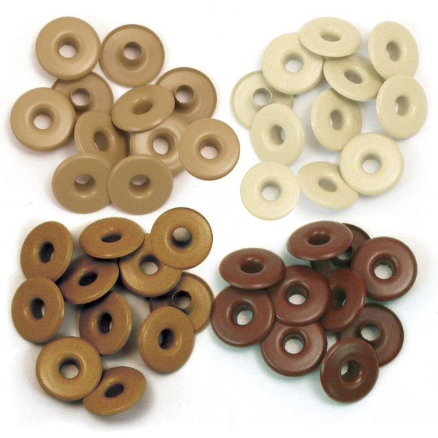 We R Memory keepers Eyelets Eyelets Wide 40/Pkg Aluminium Brown