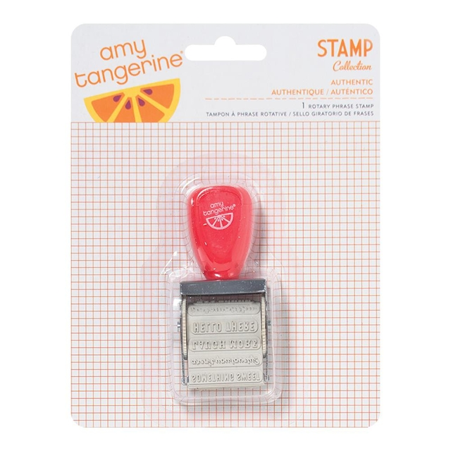 Amy Tangerine Yes Please Roller Stamp