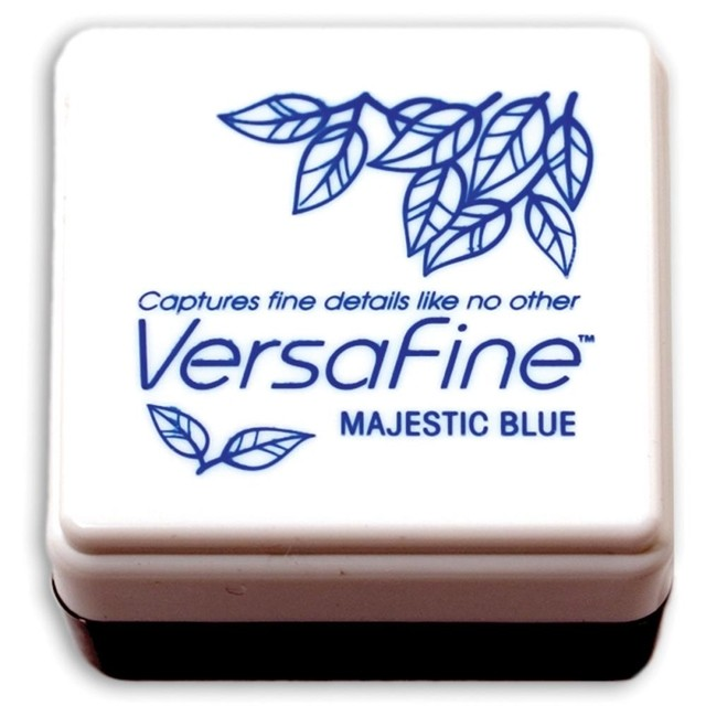 VersaFine Pigment Small Ink Pad Majestic Blue - comprar online