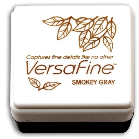 VersaFine Pigment Small Ink Pad Smokey Gray