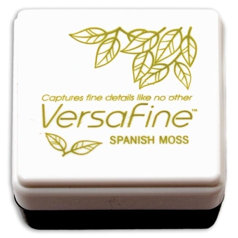 VersaFine Pigment Small Ink Pad Spanish Moss - Laura Bagnola