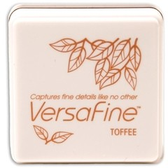 VersaFine Pigment Small Ink Pad Toffee - Laura Bagnola Crafts