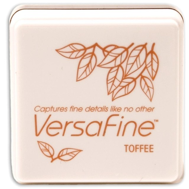 VersaFine Pigment Small Ink Pad Toffee - Laura Bagnola