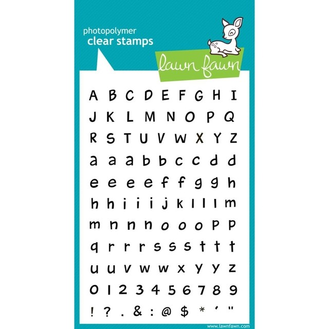 Lawn Fawn Clear Stamps / Sellos Lawn Fawn