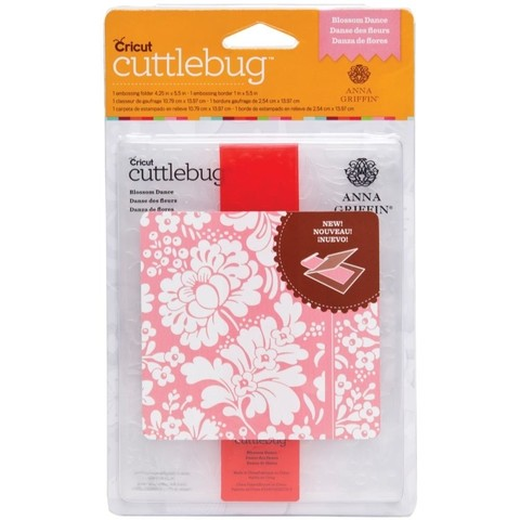 Cuttlebug Set de Carpeta de Repujado tamaño A2 y Bordes