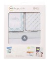 Becky Higgins Project Life Card Kit 180/Pkg BABY BOY / KIT DE 180 TARJETAS PROJECT LIFE - comprar online