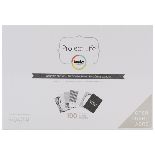 Project Life Mini Kit Wedding