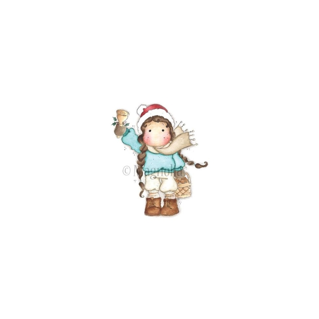 Sweet Dreams Christmas Cling Stamp Jingle Tilda 7x9cm - comprar online