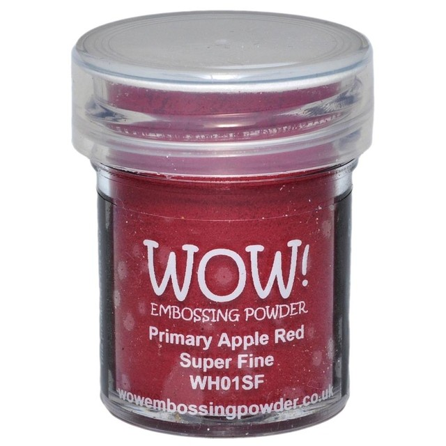 WOW! Embossing Powder Super Fine 15ml Primary Apple Red - comprar online