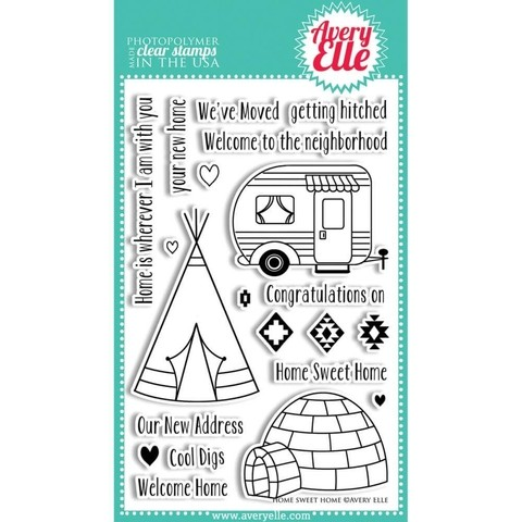 Avery Elle Clear Stamp Set / Sellos Avery Elle