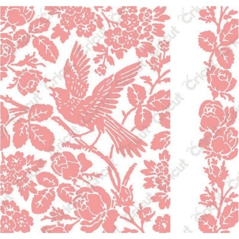 Cuttlebug A2 Embossing Folder/Border Set Aviary By Anna Griffin en internet