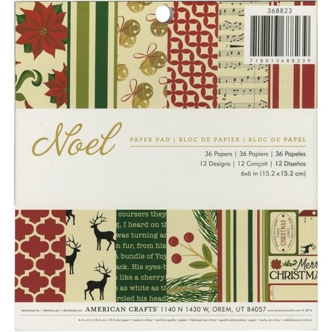 American Crafts Single-Sided Paper Pad 6