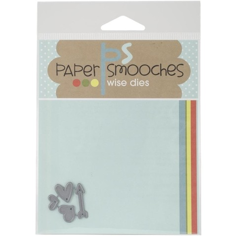 Paper Smooches Die Tiny Hearts