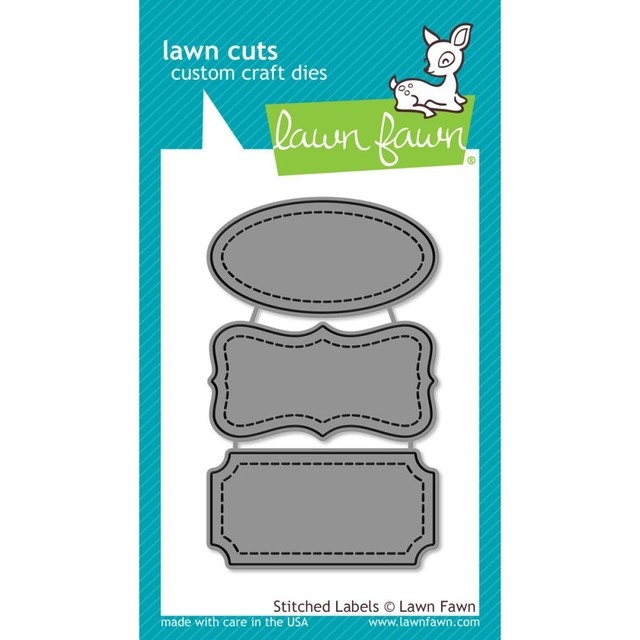 Lawn Cuts Custom Craft Die Stitched Labels
