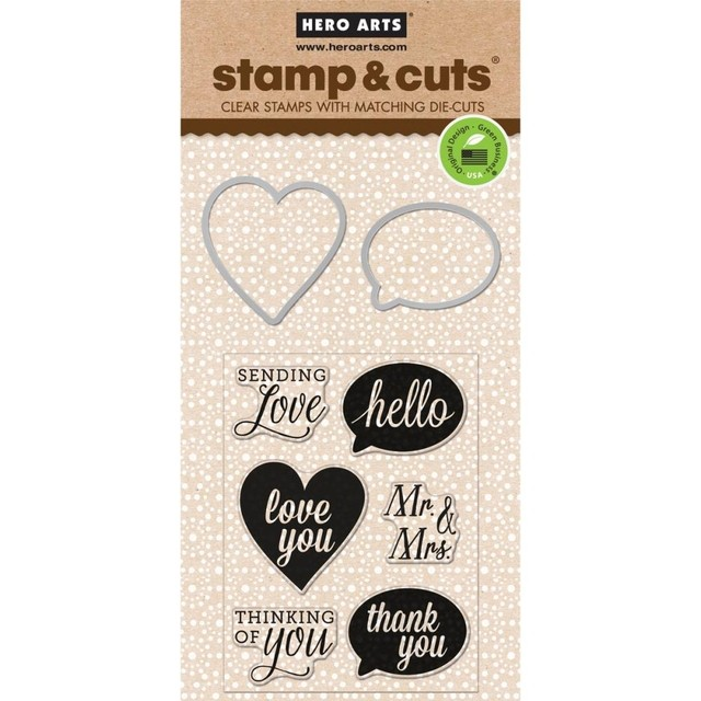 Hero Arts Stamp & Cuts Yes! - comprar online