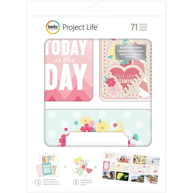 Becky Higgins Project Life Value Kit 71/Pkg Note To Self
