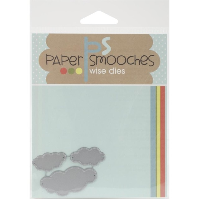 Paper Smooches Die Cute Clouds - comprar online