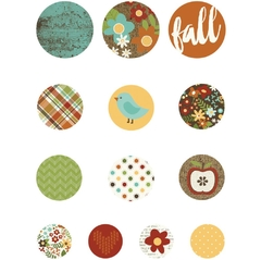 Simple Stories Pumpkin Spice Self-Adhesive Bradz 13/Pkg en internet