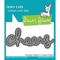 "Lawn Cuts Custom Craft Die / Cortante Lawn Fawn "" Cheers"""
