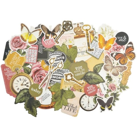 Treasured Moments Collectables Cardstock Die-Cuts/ Kaisercraft Adornos de Cartulina - tienda online