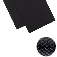 "We R DIY Party Honeycomb Pads 3""X8"" Black"