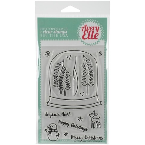 Avery Elle Clear Stamp Set / Conjunto de sellos Avery Elle Clear