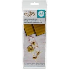 "We R DIY Party Honeycomb Pads 3""X8"" Gold Metallic - Laura Bagnola Crafts"