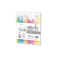 "Prima Marketing Coloring Book 8""X10"" Frameable Pages Watercolor Decor, 24 Sheets / Prima Marketing Libro para Colorear Frameable Pages de 24 hojas 20,32 x 25,4cm - Laura Bagnola Crafts"