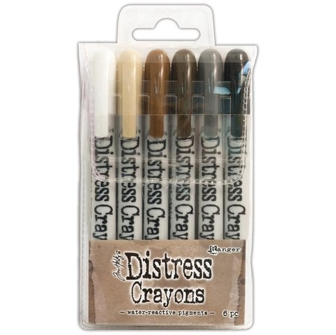 Tim Holtz Distress Crayon Set #3