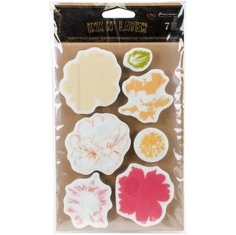 Prima Marketing Cling Stamps 4