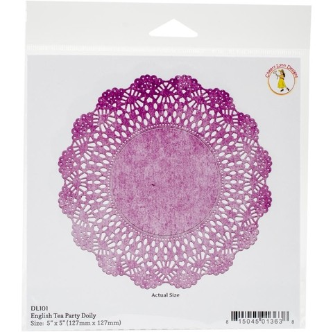 Cheery Lynn Designs Doily Die English Tea Party, 5