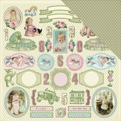 ScrapBerry's Mother's Treasure Double-Sided Cardstock 12