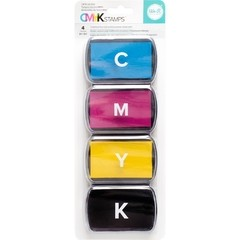 We R Memory Keepers CMYK Ink Pad Set