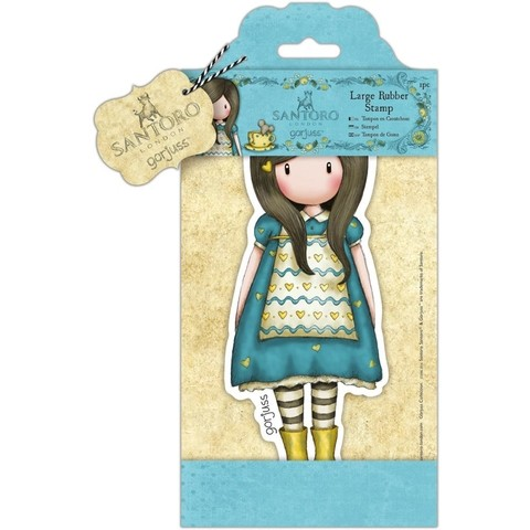 NEW! SANTORO LARGE RUBBER STAMPS The Little Friend / NUEVOS SELLOS GORJUSS GRANDES The Little Friend - comprar online