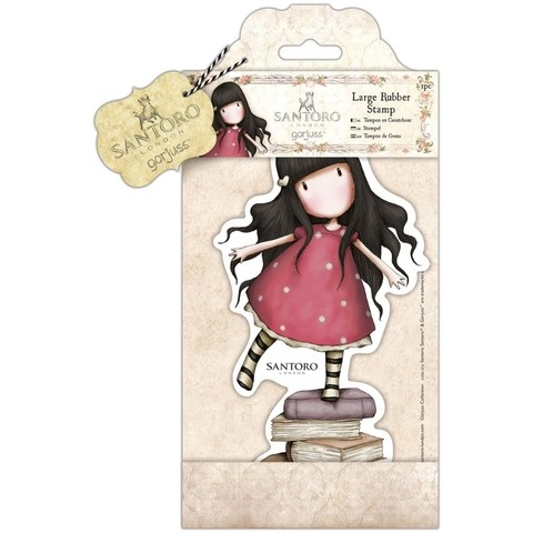 New! Santoro Large Rubber Stamps New Heights  / NUevos sellos Gorjuss Grandes New Heights - comprar online