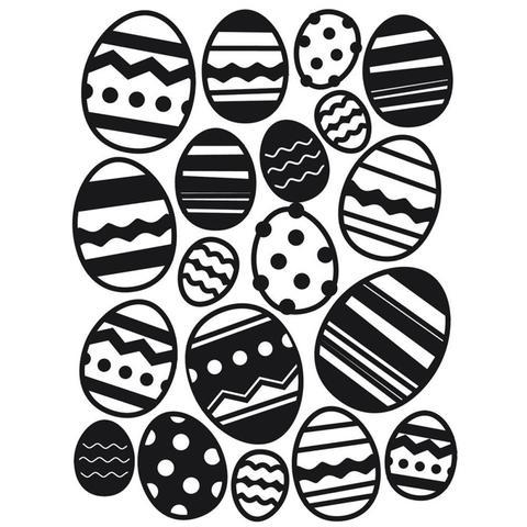 Darice Embossing Folder Easter Egg Background en internet
