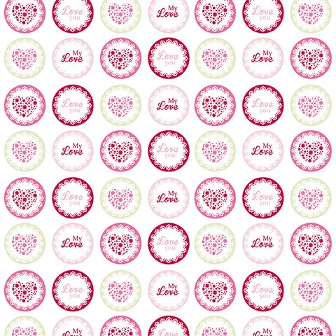 SWEET HEART - PACK DE 7 PAPELES 30X30 CM en internet