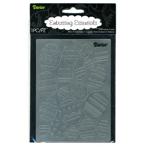 Darice Embossing Folder Easter Egg Background - comprar online