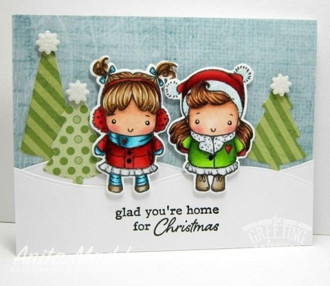 THE GREETING FARM CLEAR STAMPS SING HELLO en internet