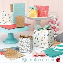 NEW! We R Memory Keepers  123 Punch Board tabla para realizar sobres, cajas y moños - Laura Bagnola Crafts