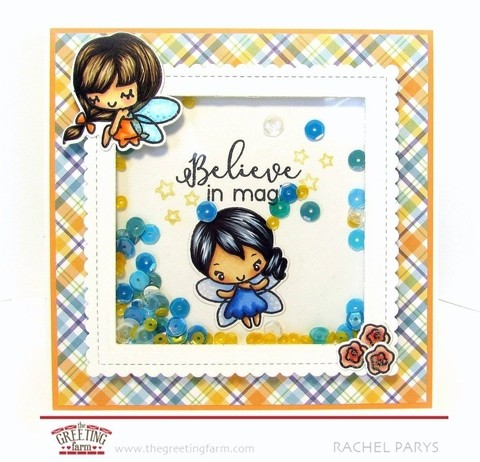 THE GREETING FARM CLEAR STAMPS LITTLE FAIRIES en internet