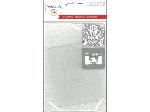 American Crafts Project Life® Adventures Embossing Folders - comprar online