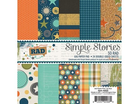 Simple Stories Collection So Rad Paper Pad 6