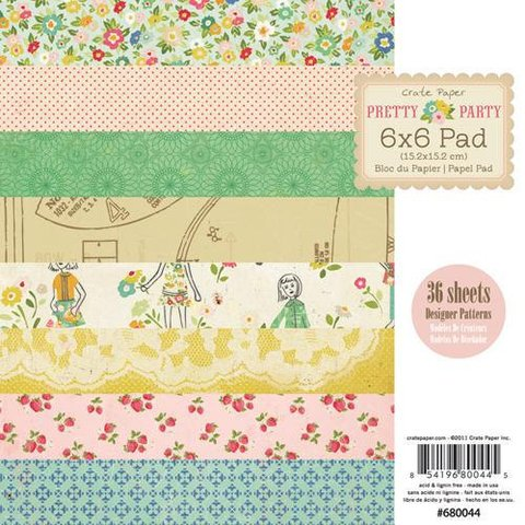Pretty Party Paper Pad 6