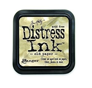 Distress Ink Pad Small Old Paper
