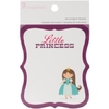 "Little Princess Die-Cut Journaling Tags 3X3.5"""" 18/Pkg-s6 Designs / Princesita libreta de tarjetas x 18 piezas"