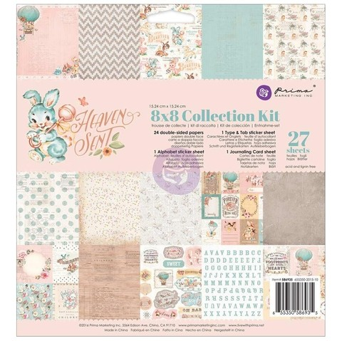 Prima Marketing Heaven Sent Collection Kit 8x8