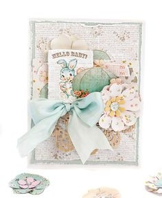 Prima Marketing collection Heaven Sent Journaling Cards 4